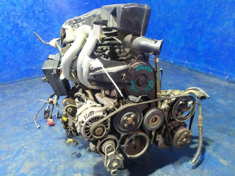 Двигатель Mitsubishi Ek Wagon H81W 3G83 2003