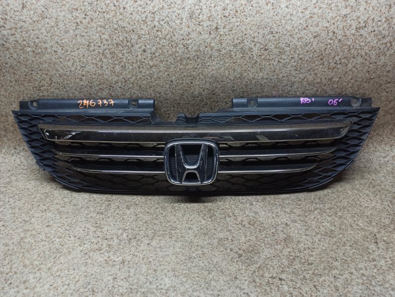 Решетка радиатора Honda Odyssey RB1 2006 передняя