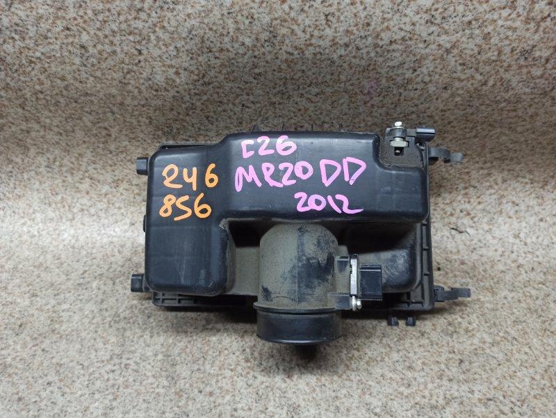 Расходомер воздушный Nissan Serena C26 MR20DD 2012