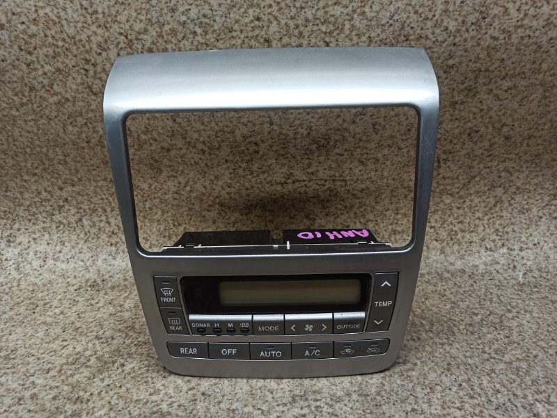 Климат контроль Toyota Alphard ANH10 2002