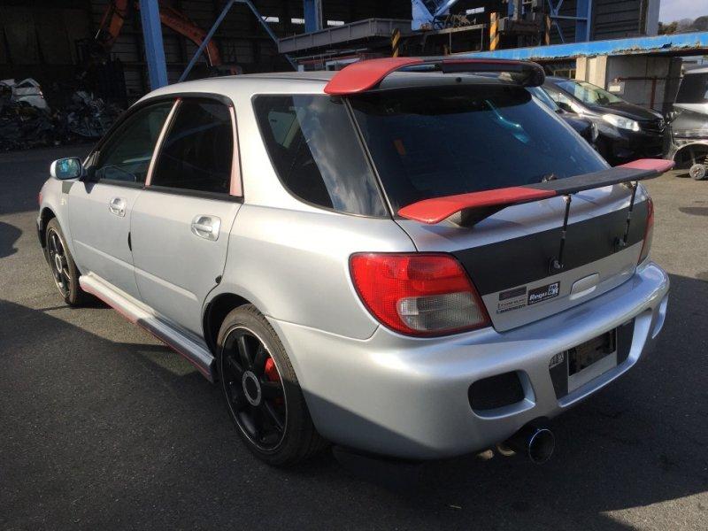 Дверь задняя Subaru Impreza GGA 2002 задняя