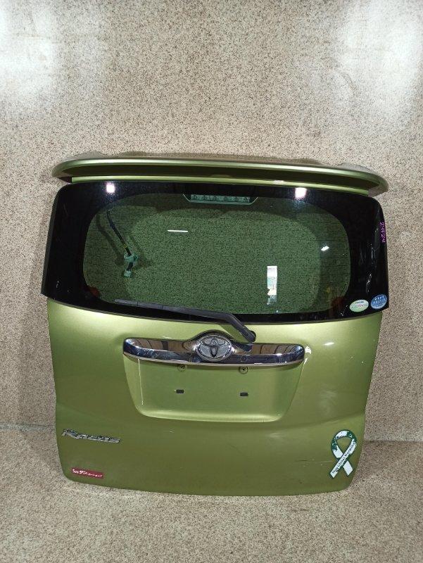 Дверь задняя Toyota Ractis NCP100