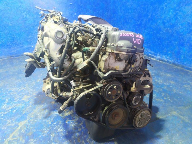 Двигатель Nissan Tino V10 QG18DE 1999