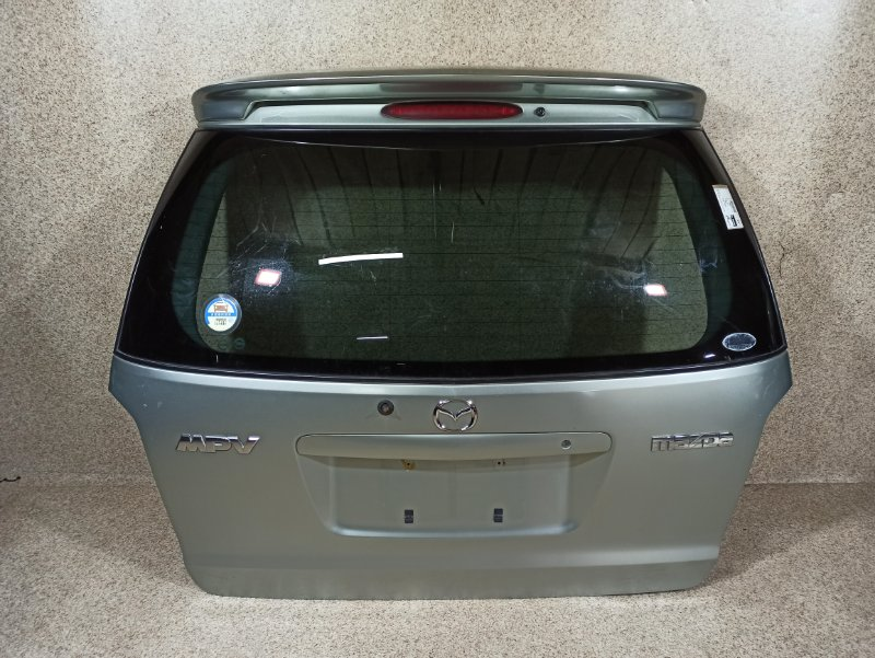 Дверь задняя Mazda Mpv LW3W 2002 задняя