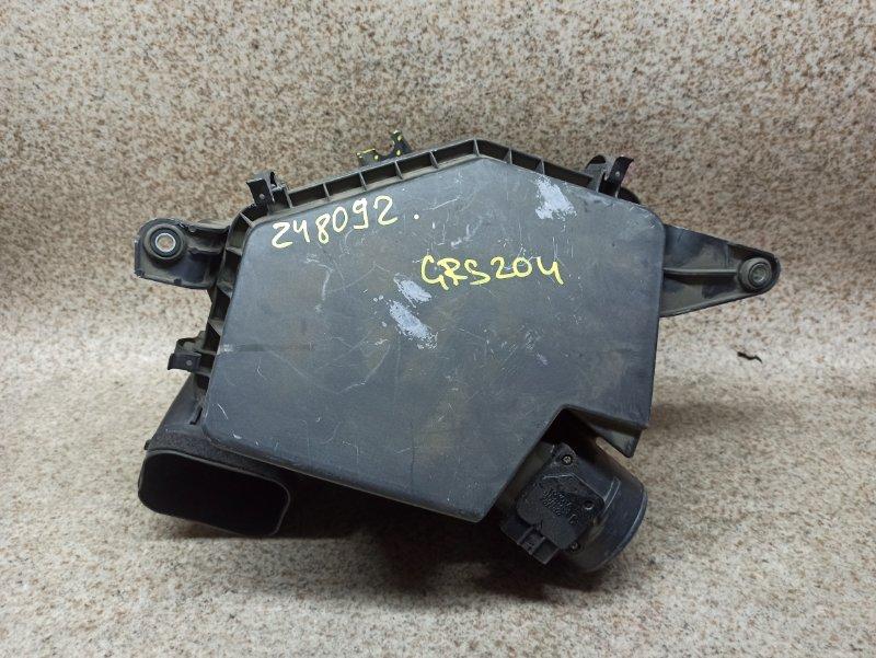 Расходомер воздушный Toyota Crown GRS204 2GR-FSE