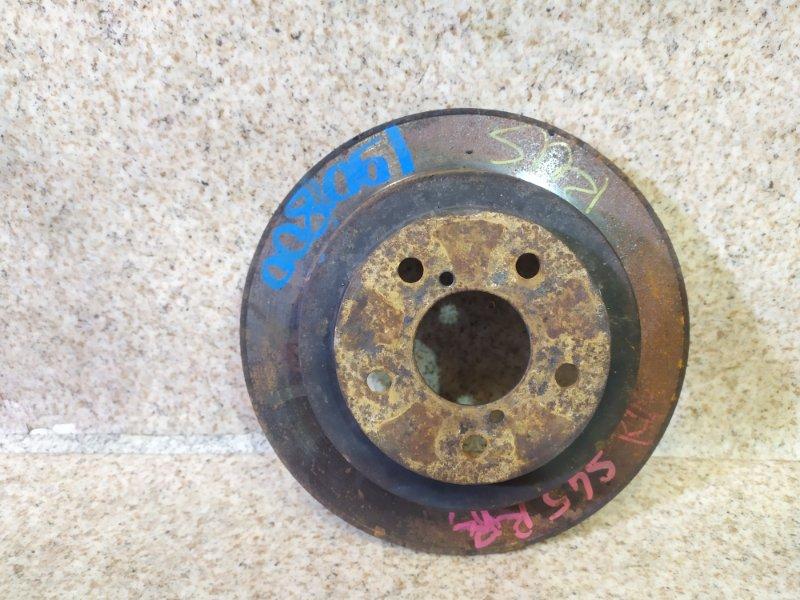 Тормозной диск Subaru Legacy BD5 задний правый