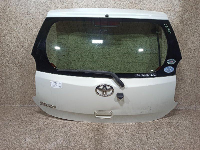 Дверь задняя Toyota Passo KGC30 2010