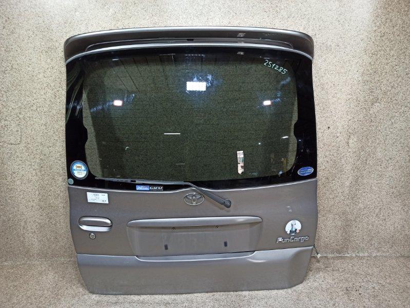 Дверь задняя Toyota Funcargo NCP20 2002