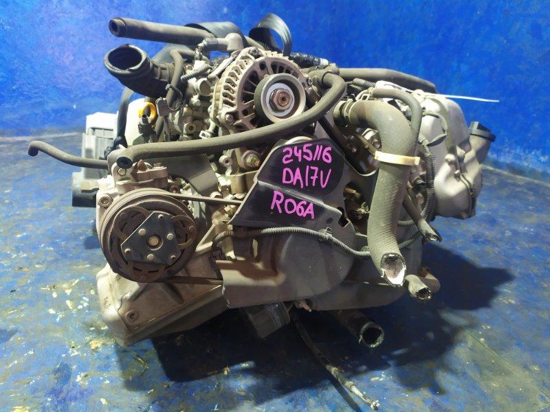 Двигатель Suzuki Every Van DA17V R06A 2015
