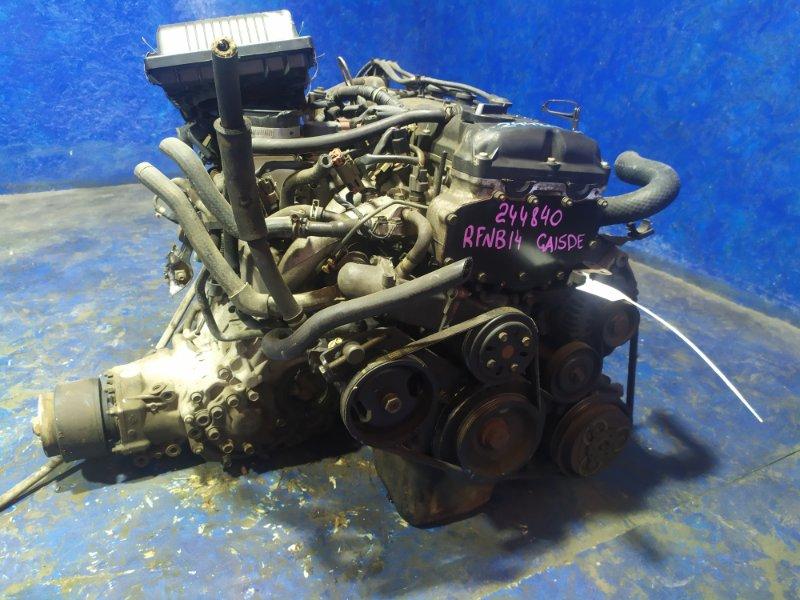 Двигатель Nissan Rasheen RFNB14 GA15DE 1998