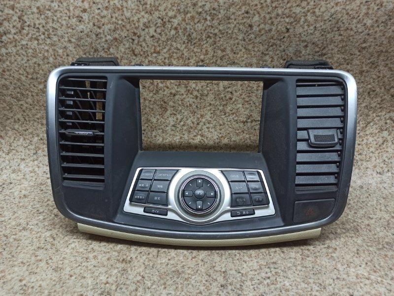 Консоль магнитофона Nissan Teana J32