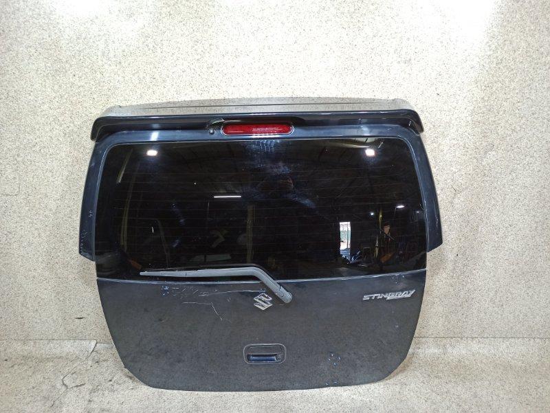 Дверь задняя Suzuki Wagon R MH23S