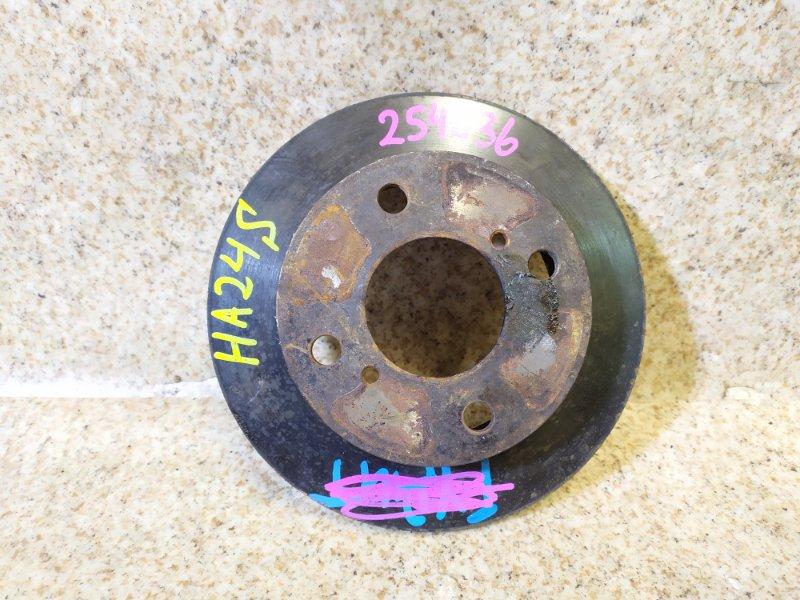 Тормозной диск Suzuki Alto HA24S передний