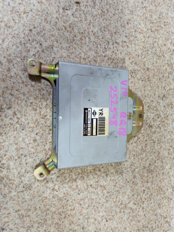 Блок управления efi Nissan Tino V10 QG18DE