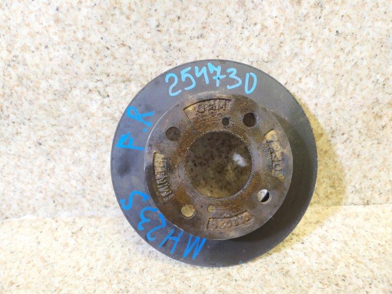 Тормозной диск Suzuki Wagon R MH23S передний