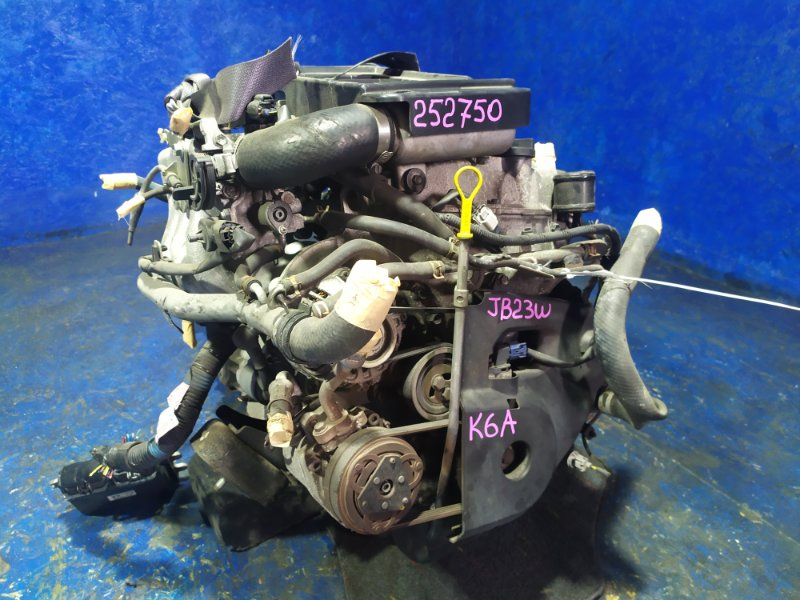 Двигатель Suzuki Jimny JB23W K6A-T 2009