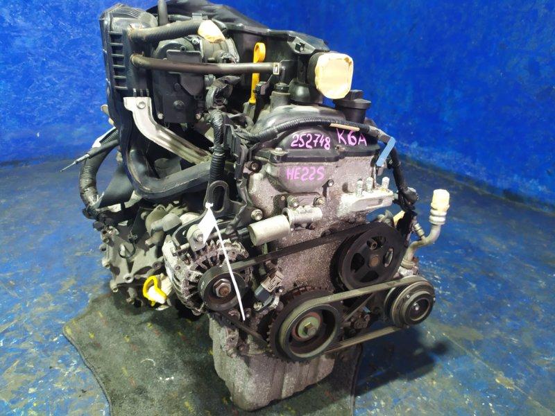 Двигатель Suzuki Alto Lapin HE22S K6A 2009