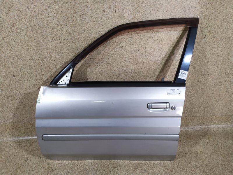 Дверь Mazda Demio DW3W 2001 передняя левая