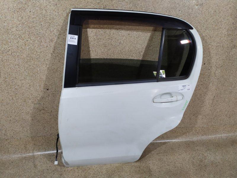 Дверь Toyota Passo KGC30 2011 задняя левая