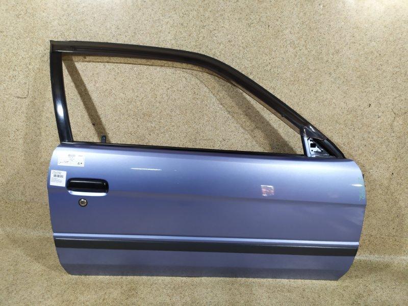 Дверь Toyota Corsa EL51 1997 передняя правая