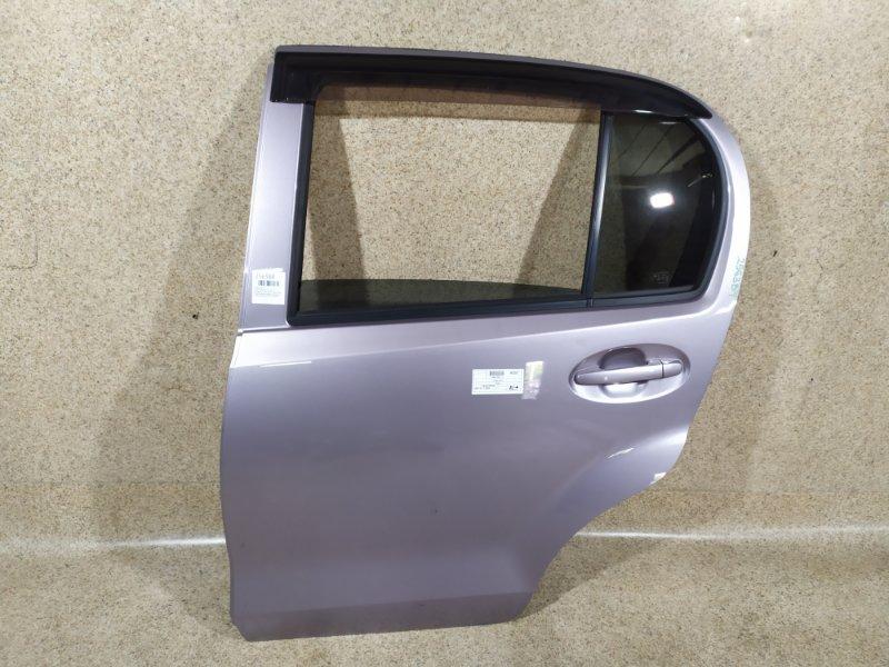 Дверь Toyota Passo KGC30 2015 задняя левая