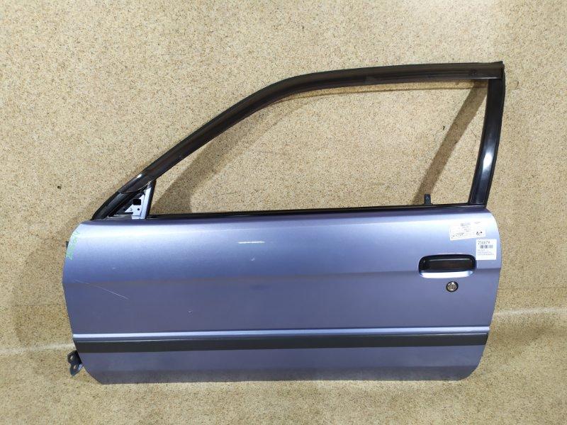 Дверь Toyota Corsa EL51 1997 передняя левая