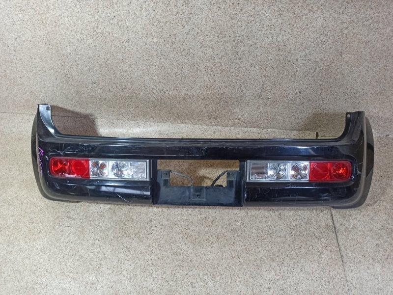 Бампер Nissan Cube BZ11 задний