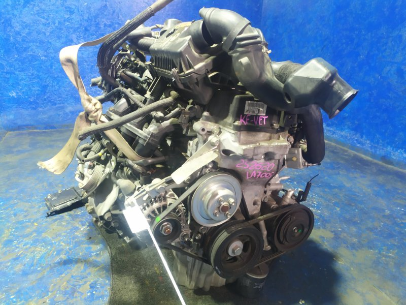 Двигатель Daihatsu Wake LA700S KF-VET 2014