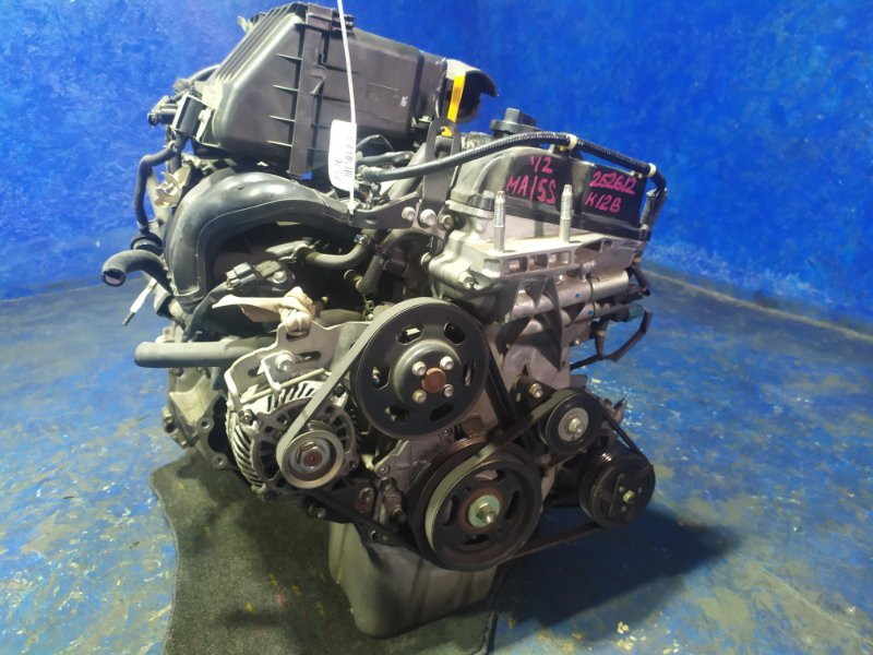 Двигатель Suzuki Solio MA15S K12B 2012