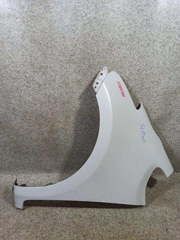 Крыло Toyota Ractis SCP100 2SZ-FE 2007 переднее левое