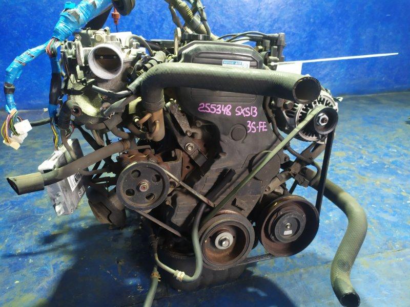 Двигатель Toyota Crown Comfort SXS13 3S-FE