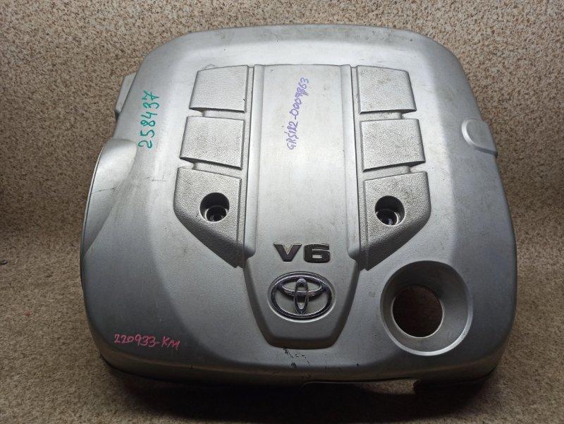 Пластиковая крышка на двс Toyota Crown GRS182 3GR-FSE