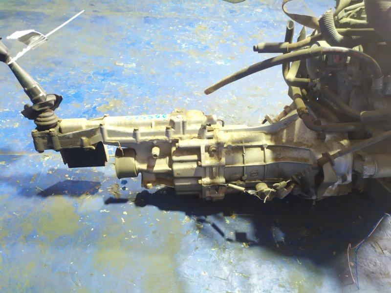 Мкпп Mitsubishi Pajero Mini H56A 4A30T 1995