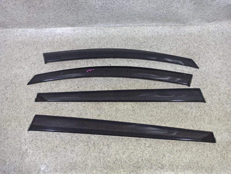 Ветровики комплект Mazda Mpv LY3P