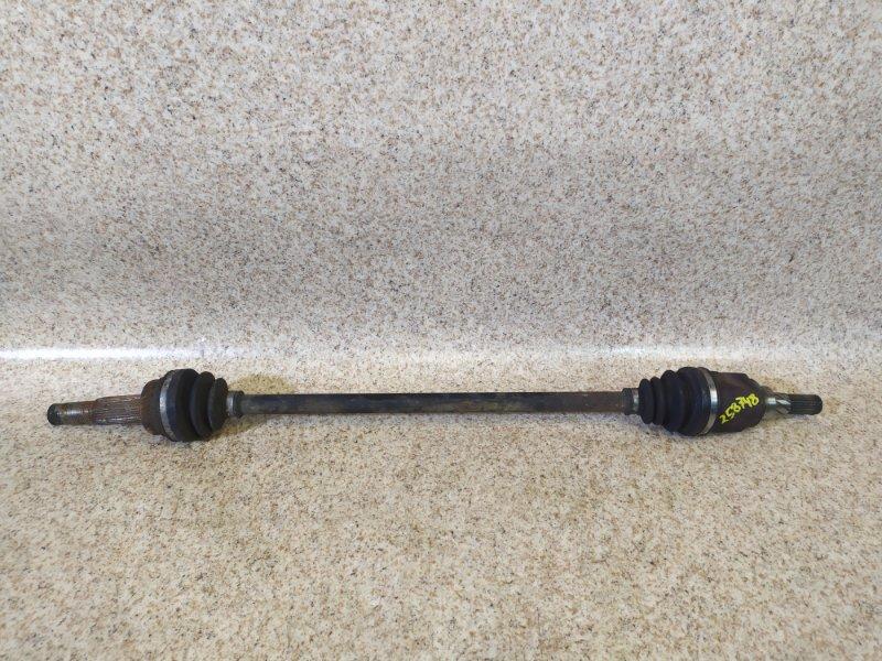 Привод Nissan Presage TNU31 QR25DE 2003 задний левый