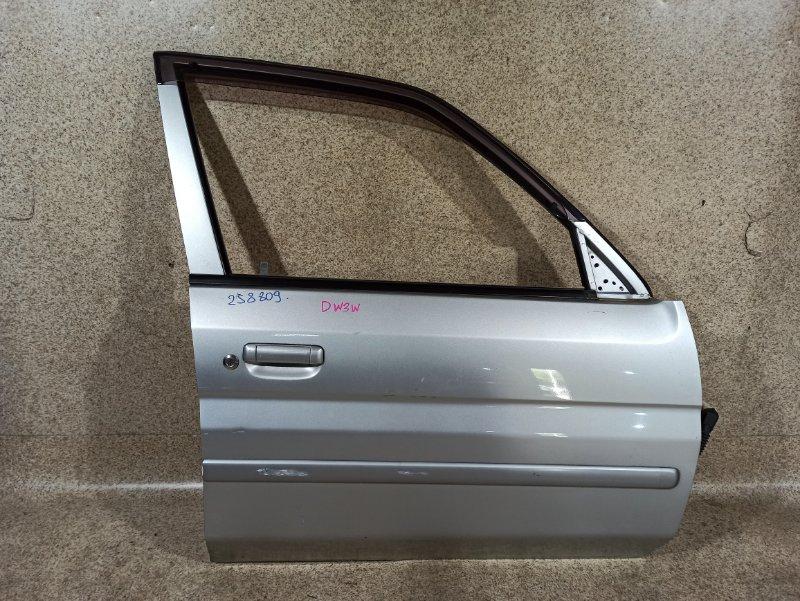 Дверь Mazda Demio DW3W B3 2001 передняя правая
