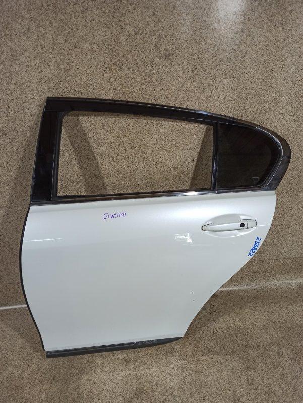 Дверь Lexus Gs450H GWS191 2GR-FSE 2007 задняя левая