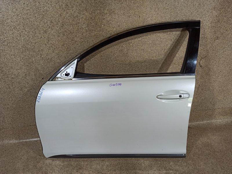 Дверь Lexus Gs450H GWS191 2GR-FSE 2007 передняя левая