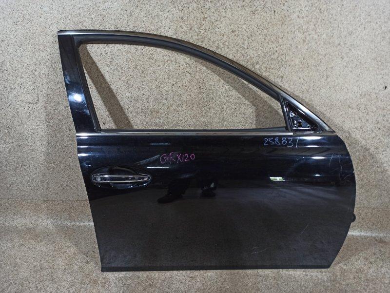 Дверь Toyota Mark X GRX120 4GR-FSE 2008 передняя правая