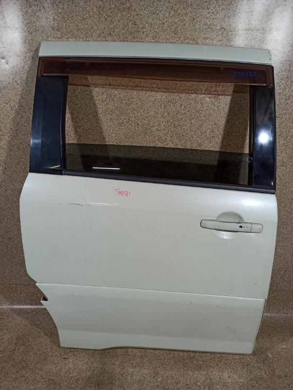 Дверь Nissan Presage TNU31 QR25DE 2003 задняя правая