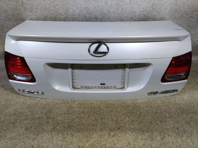 Крышка багажника Lexus Gs450H GWS191 2GR-FSE 2007