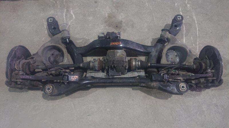 Балка подвески Audi A6 4F5 AUK 2008 задняя