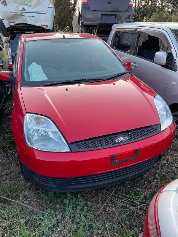 Стойка Ford Fiesta CBK FYJA 2004 передняя левая