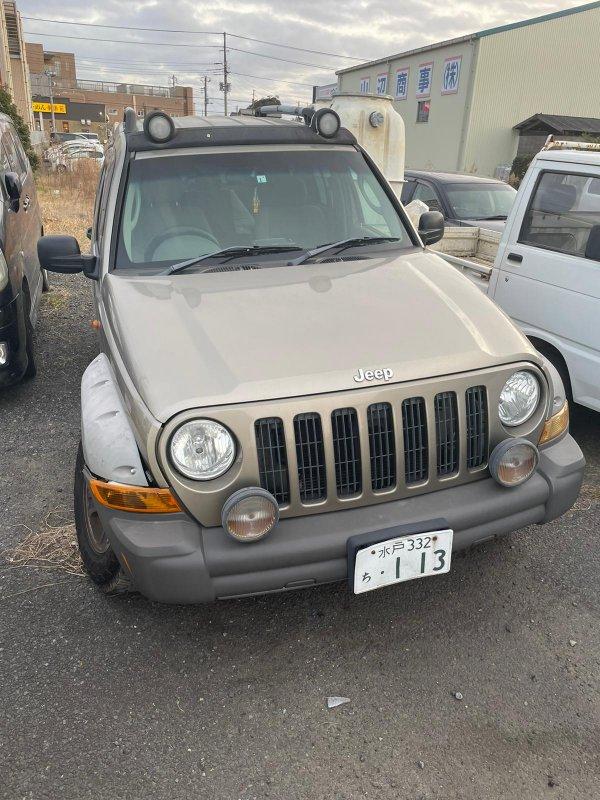 Туманка Jeep Cherokee KJ37 EKG 2005 верхняя
