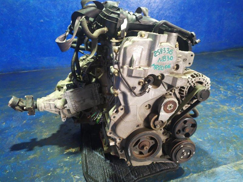 Двигатель Nissan Lafesta NB30 MR20DE 2007
