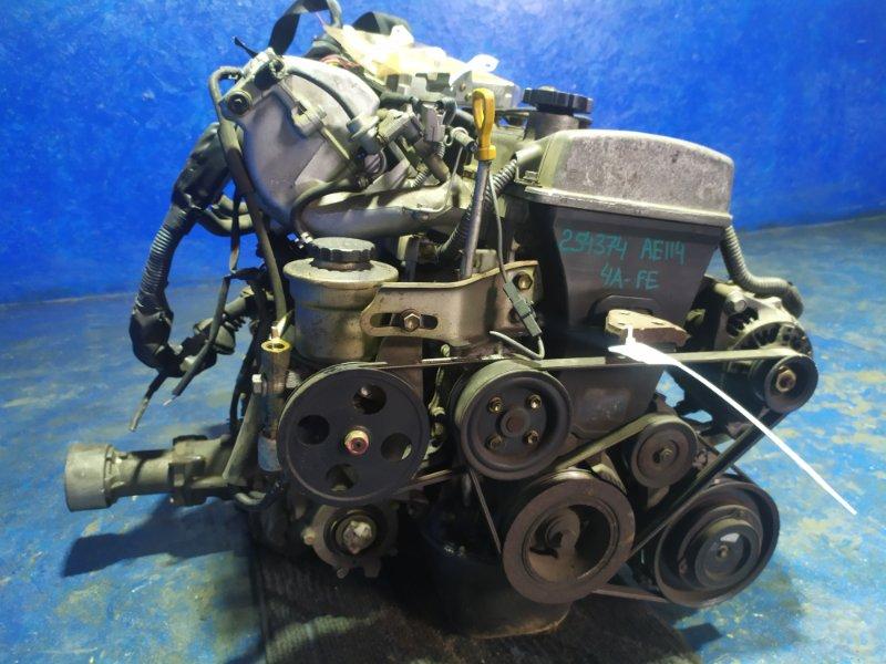 Двигатель Toyota Sprinter Carib AE114 4A-FE 2000