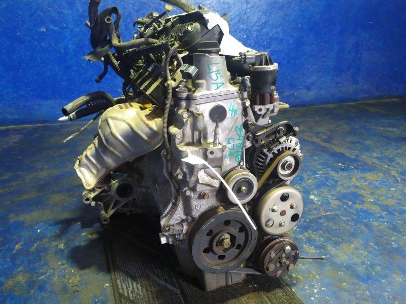 Двигатель Honda Airwave GJ1 L15A VTEC 2005