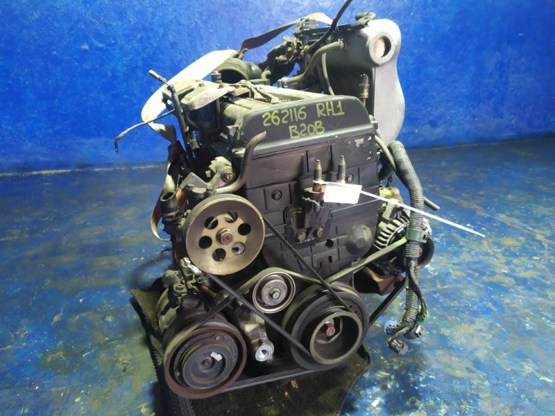 Двигатель Honda Sm-X RH1 B20B