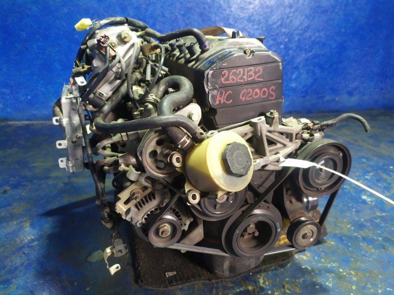 Двигатель Daihatsu Charade G200S HC-E 1994