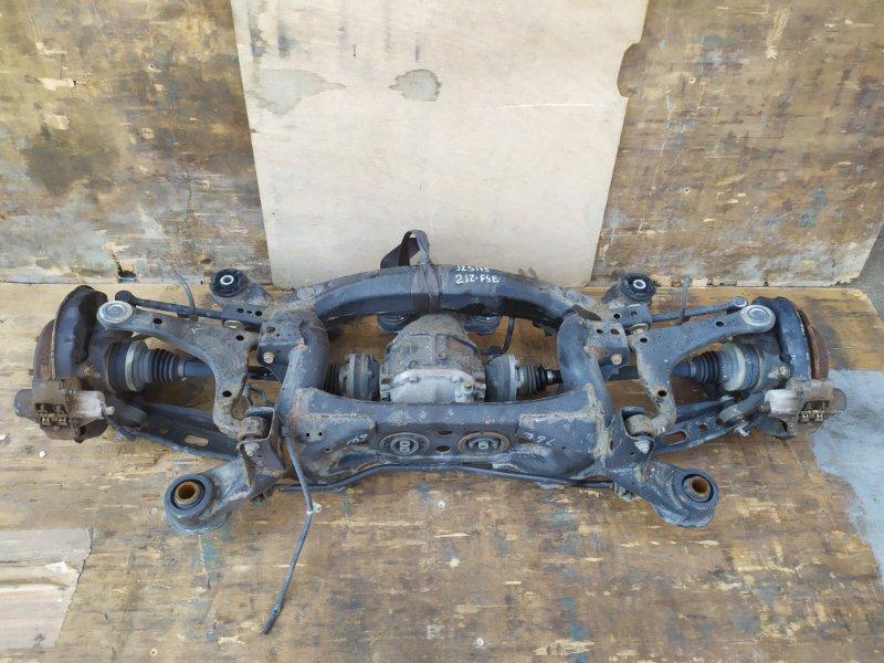 Балка подвески Toyota Crown JZS175 2JZ-FSE задняя